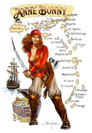Kända kvinnliga pirater